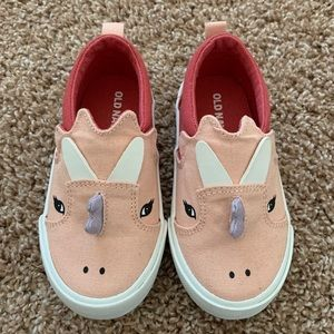 OLD NAVY Pink Dinosaur Shoes